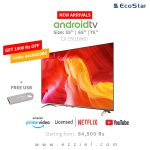 Ecostar LED TV Poster New Android TV + free usb
